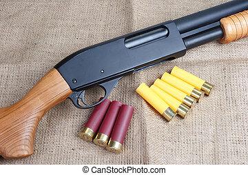 bomba, acción, shotgun, ,
