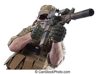 militär, entreprenör, privat,  carbine
