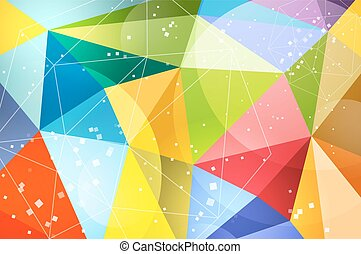 Abstract background design. Vector technology wallpaper....