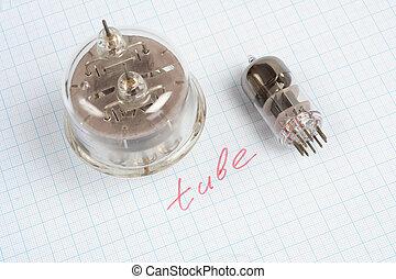 old vacuum tube (electron tube)