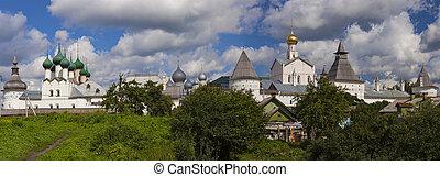 Rostov kremlin panorama, Russia