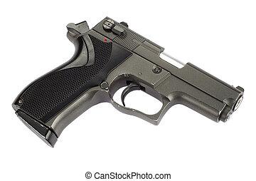 9 Mm, handgun, ,