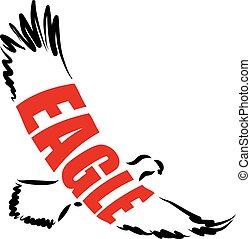 EAGLE ILLUSTRATION LETTERING.eps - EAGLE ILLUSTRATION...