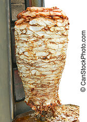 Shawarma - Grill machine for cooking meat shawarma in...