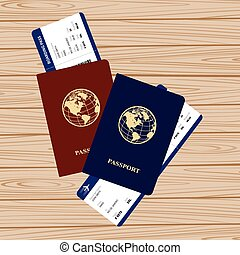 passports tickets