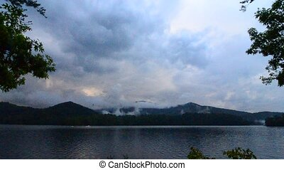 lake santeetlah in smoky mountains