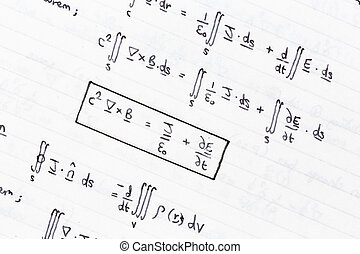 Mathematical equations of heat conduction and thermodynamics...