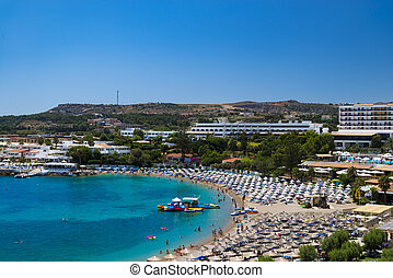 Kalithea Beaches and Hotels on Rhodes - The hotels of...