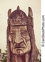 Alasca,  Totem