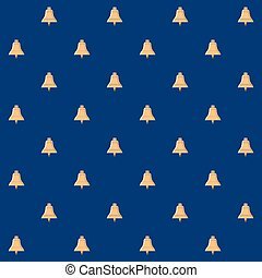 Seamless Pattern with Bell