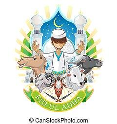 Eid Al Adha Festival Of Sacrifice I - Eid Al Adha Greeting...