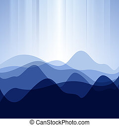 Abstract background from waves - Abstract design creative...