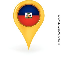 Location Haiti - Map pin showing Haiti