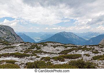 Dachstein Mountains - Dachstein mountains, view from the...
