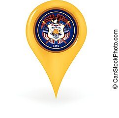 Location Utah - Map pin showing Utah