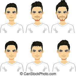 Hipster Hairstyle Men - Collection of different cool...