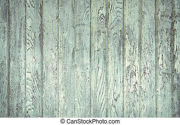 faded turquoise painted wood - Faded aqua painted barn wood.