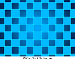 blue abstract background, squares