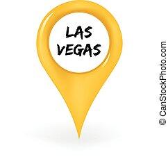 Location Las Vegas - Map pin showing Las Vegas.