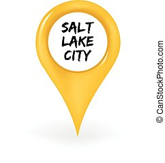 Location Salt Lake City - Map pin showing Salt Lake City