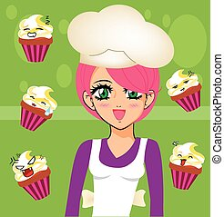 manga girl chef 3