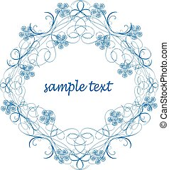 Antique Frame ornament vector - It is a vector illustration...