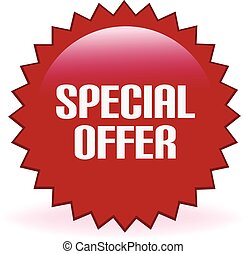 Special Offer - Special offer promotional sticker.