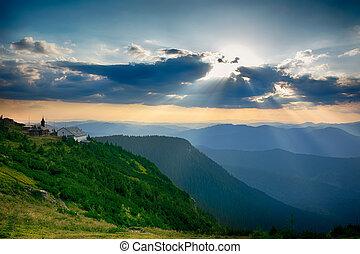 Ceahlau massif, Eastern Carpathians, Moldova, Romania