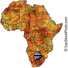 botswana old map