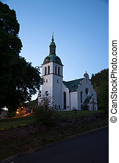 Graenna Kyrkan Church, Joenkoeping, Sweden - Graenna is a...