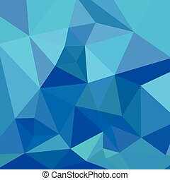 Moonstone Blue Abstract Low Polygon Background - Low polygon...