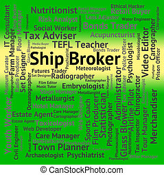 Broker connection group jobs