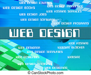 Web Design Shows Net Designs And Designers
