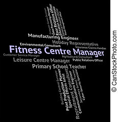 Fitness Centre Manager Indicates Physical Activity And...