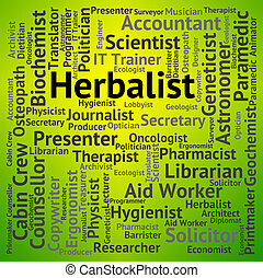 Herbalist Job Represents Jobs Work And Hiring - Herbalist...