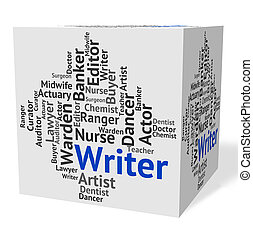 Writer Job Shows Hire Writers And Occupation - Writer Job...