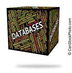 Databases Word Indicates Info Words And Text - Databases...