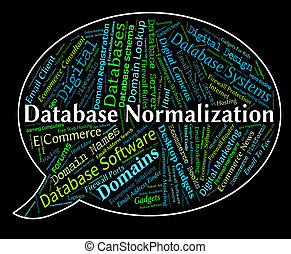 Database Normalization Represents Computing Standardise And...