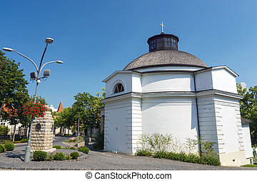 The Round Church in Balatonfured - The classicist Round...