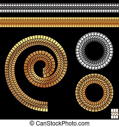 Repeating Rope Pattern Icon