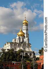 High bell tower of Ivan - High bell tower of Ivan the Great...