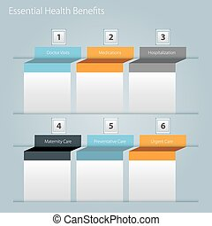 Essential Health Benefits Icon - An image of a essential...