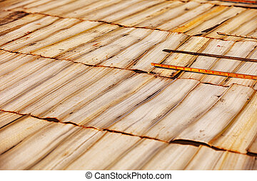 Natural Material for Handicrafts - Strips of natural...