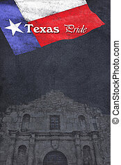 Texas Pride - Texas pride on chalkboard with room for your...