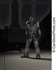 Future Space Marine Assassin