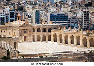Fort manoel at Valletta, Malta