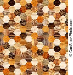 fundo, com, madeira, padrões,