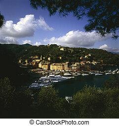 Portofino - Harbor in Portofino, Italy