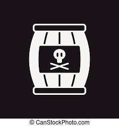wine barrel icon