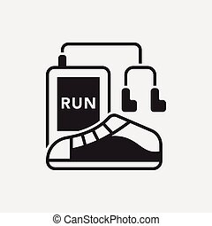 running shoes icon